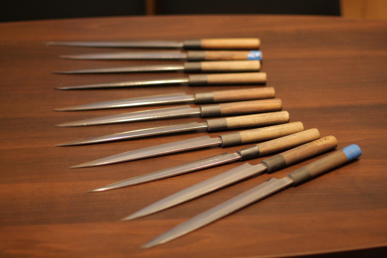 Заточка ножей сделанного своими руками
