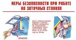 Типовая инструкция по охране труда при работе на заточном станке 2015